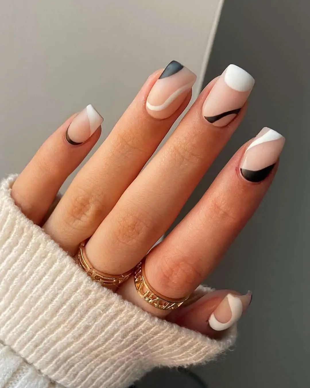 Fall Nails Ideas that you have to see 97