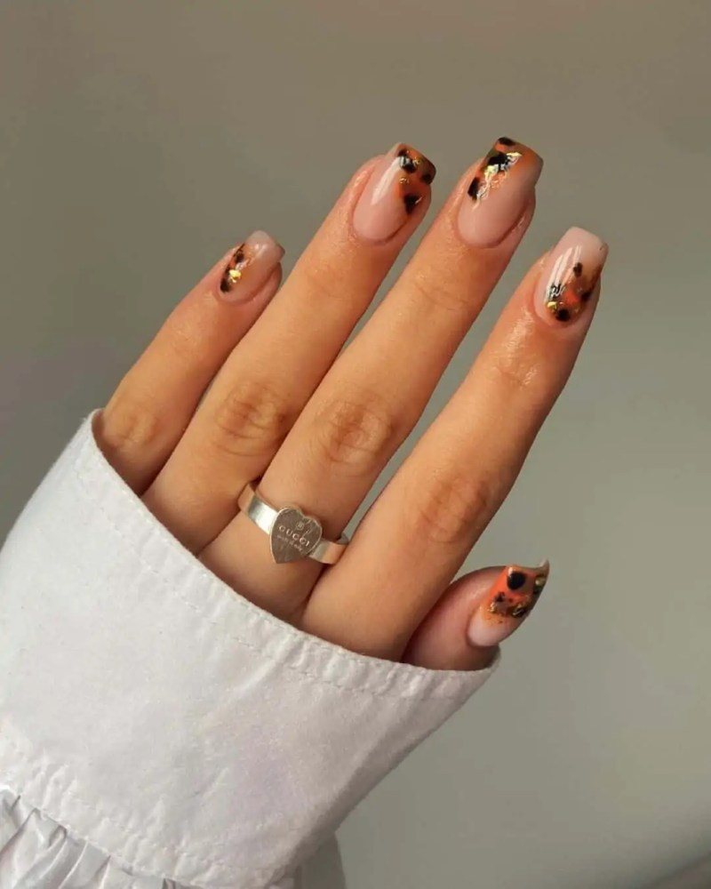 Fall Nails Ideas that you have to see 209