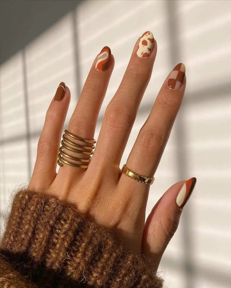 Fall Nails Ideas that you have to see 141