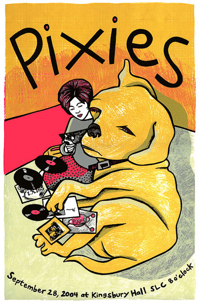Pixies Poster by Leia Bell