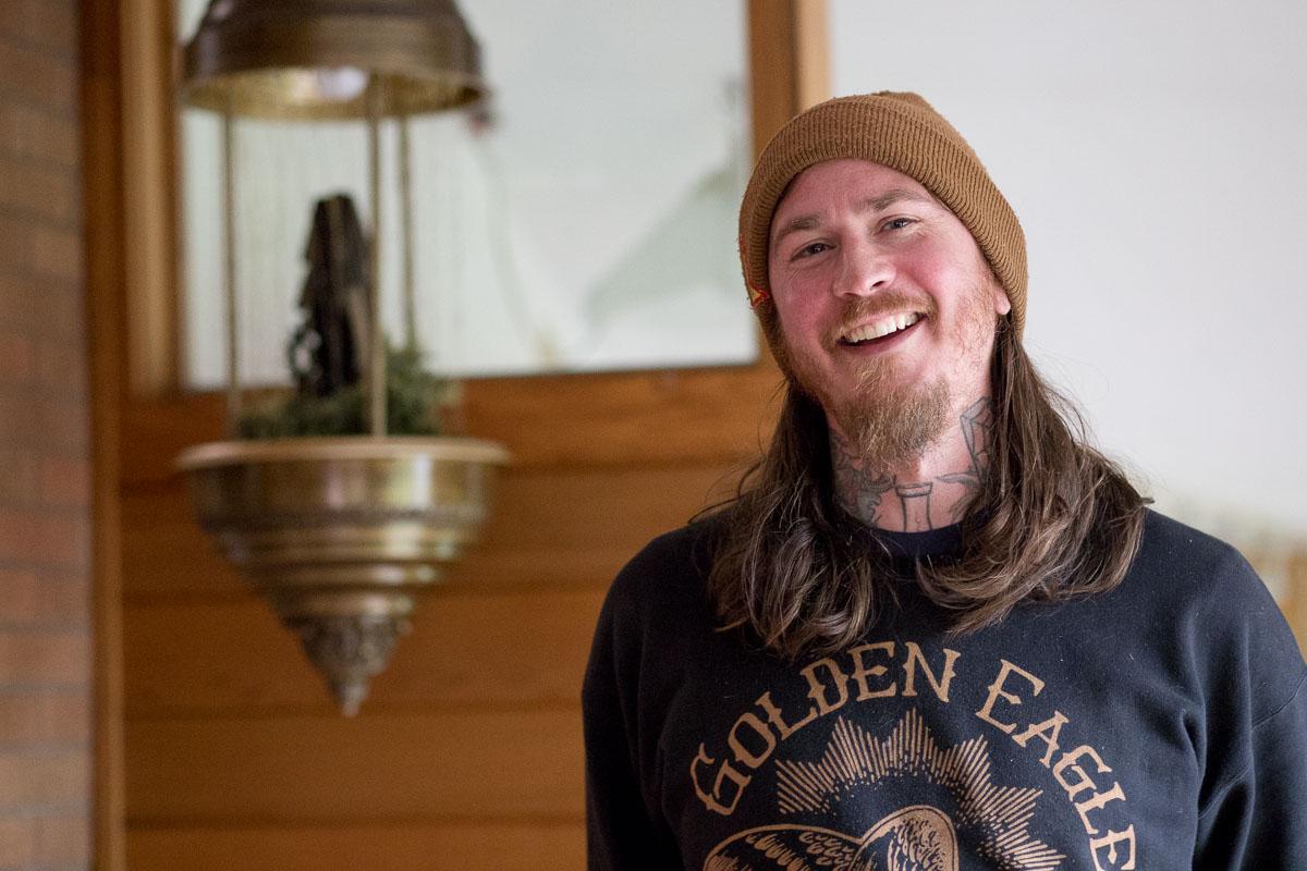 Tattooer, Woodworker + Artist Scott Santee, Golden, Colorado