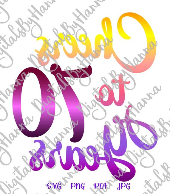 Download 70th Birthday SVG Files for Cricut Card Gift Poster Cheer ...