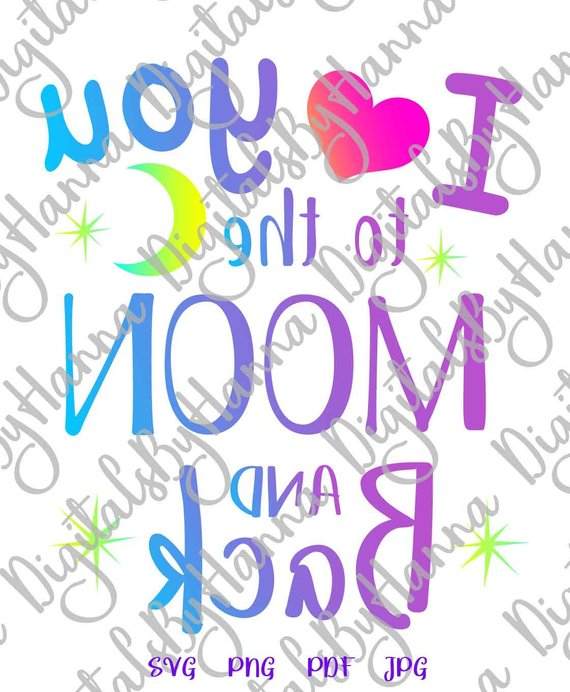 Download Honeymoon SVG File for Cricut Saying I Love You to the ...