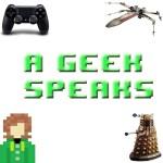 A geek speaks