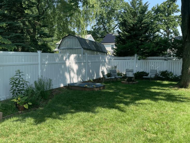 vinyl fence background