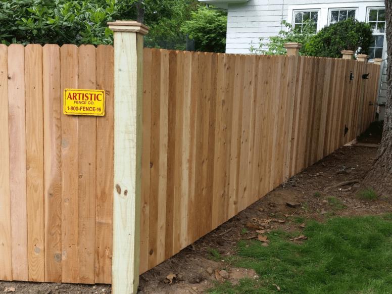 #111 Wood Picket Fence
