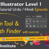 Adobe Illustrator Episode 12(c) – Pen Tool – Urdu/Hindi