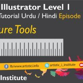 Adobe Illustrator Episode 16 – Measurement Tools – Urdu/Hindi