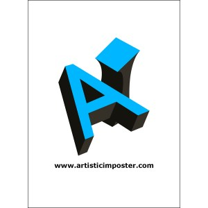 Artistic Imposter Design Playing Cards