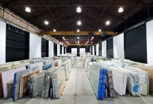BAS STONE NYC warehouse in Long Island City