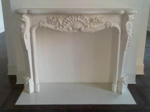Plaza Hotel antique marble mantel