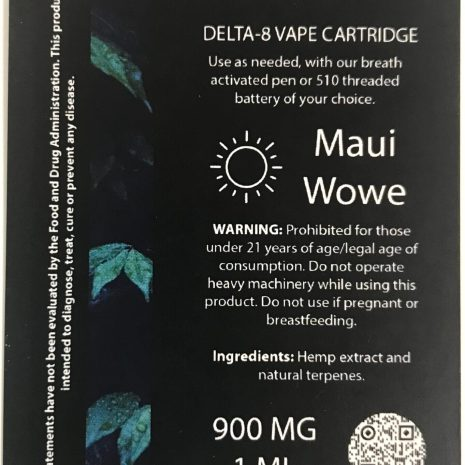 Endo Delta 8 Maui Wowie 1ml cartridge