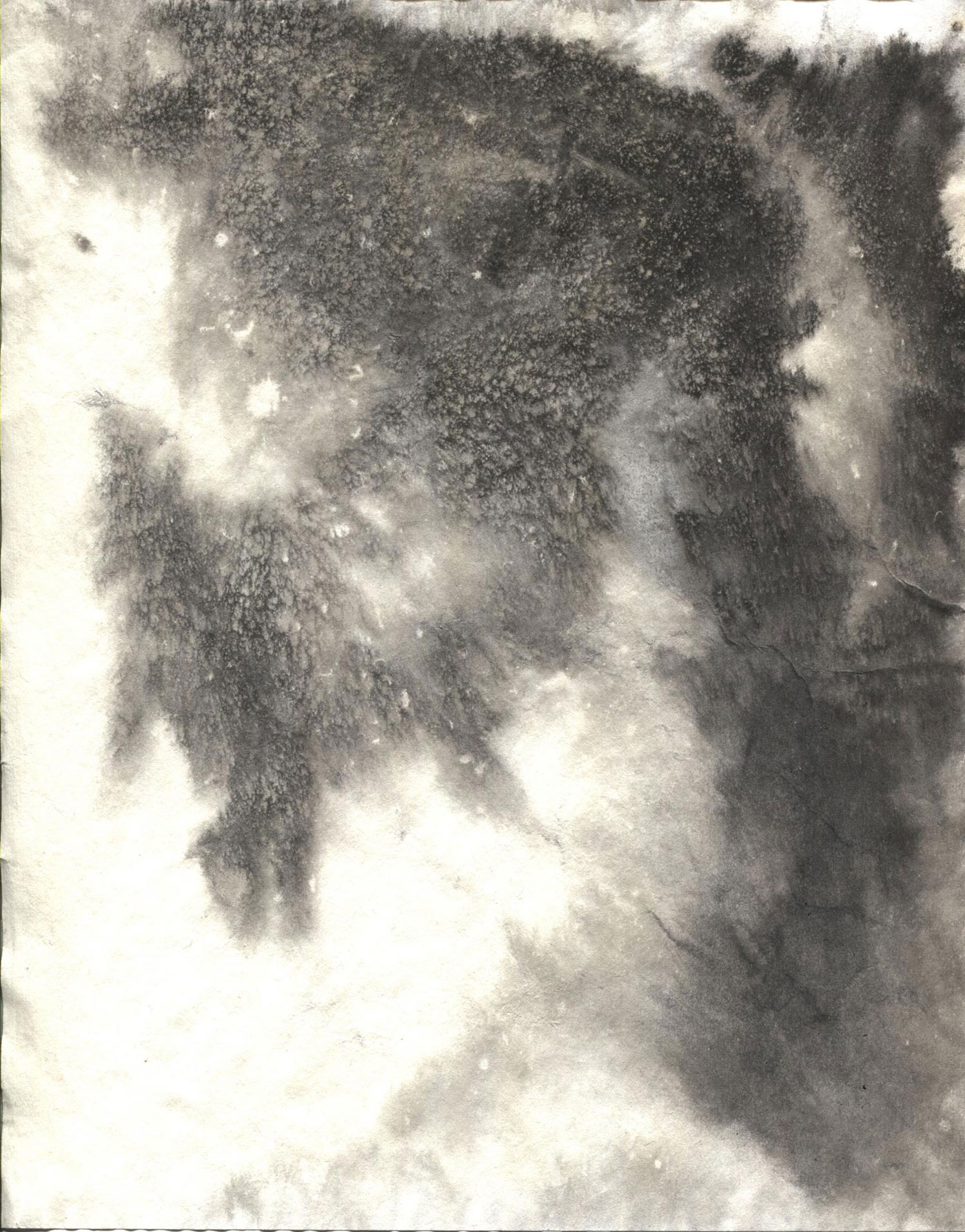Six Sumi Ink Stained Paper Textures ArtisticPOV