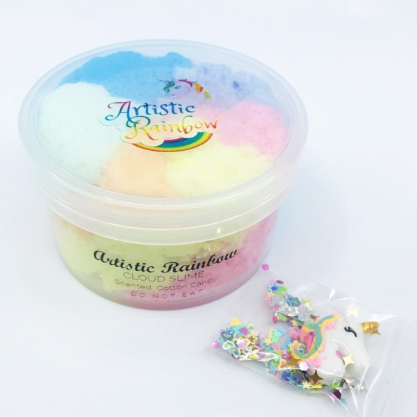 Artistic Rainbow Slime