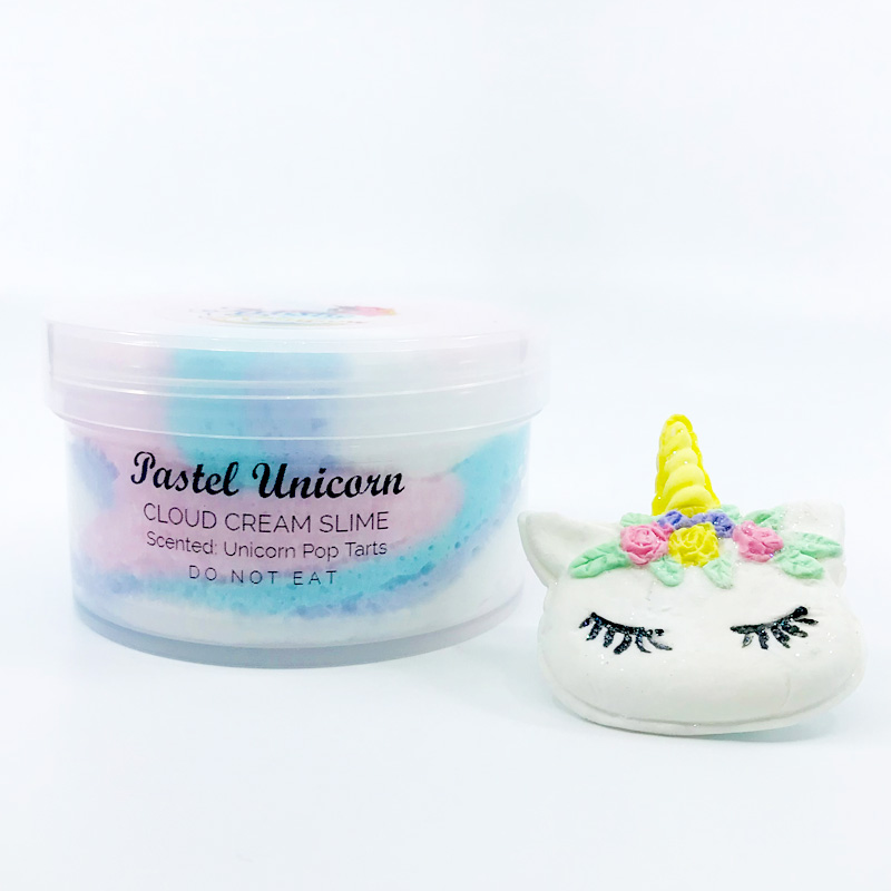 Pastel Unicorn DIY Slime