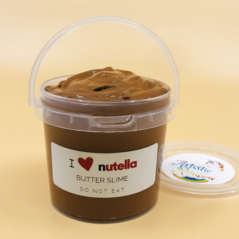 I Love Nutella Slime