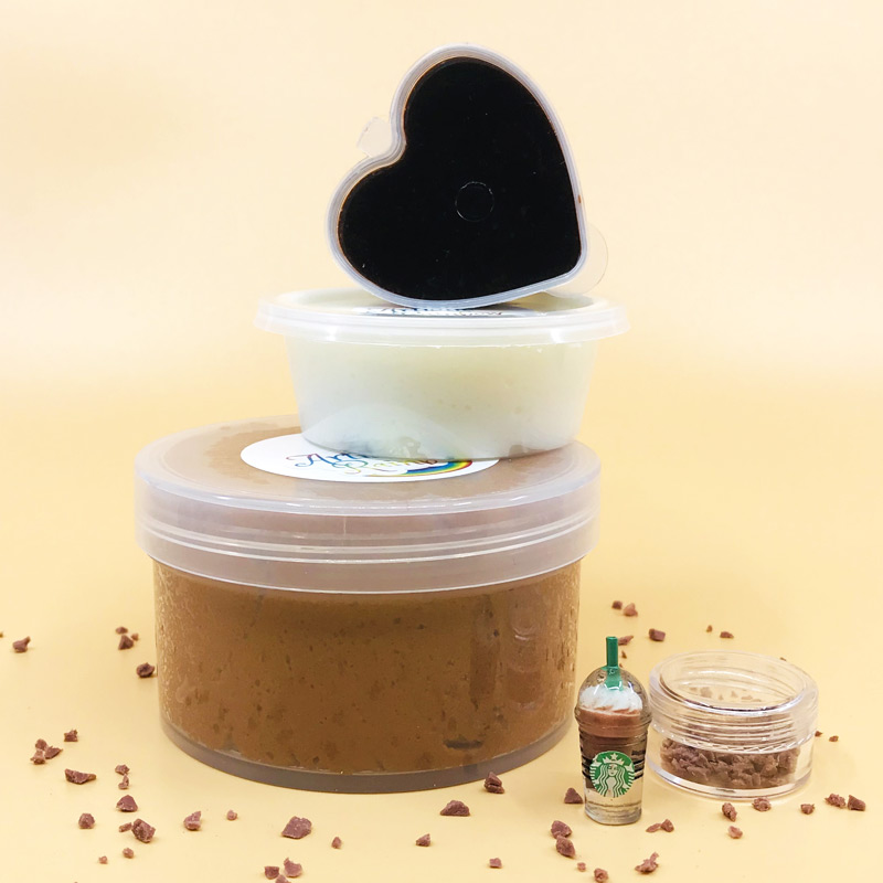 Mocha Frappuccino Slime Kit