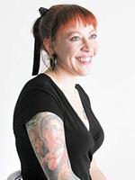 Amanda Cancilla At Artistic Skin Design and Body Piercing