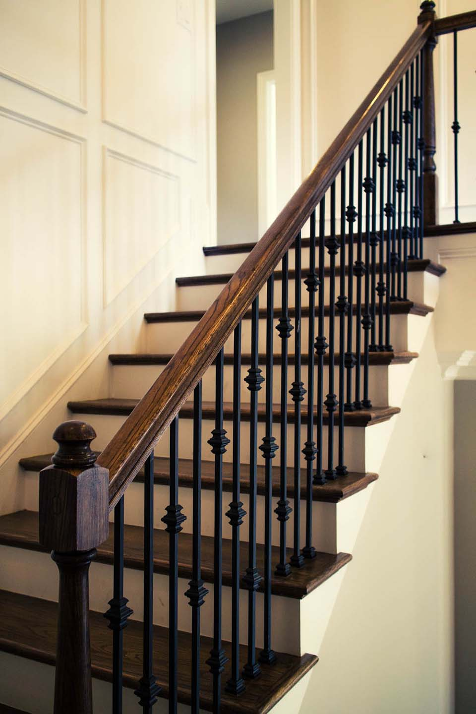 Wrought Iron Pickets Stairs
