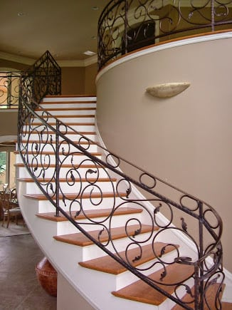 Tuscan Staircase Amp Railings Artistic Stairs