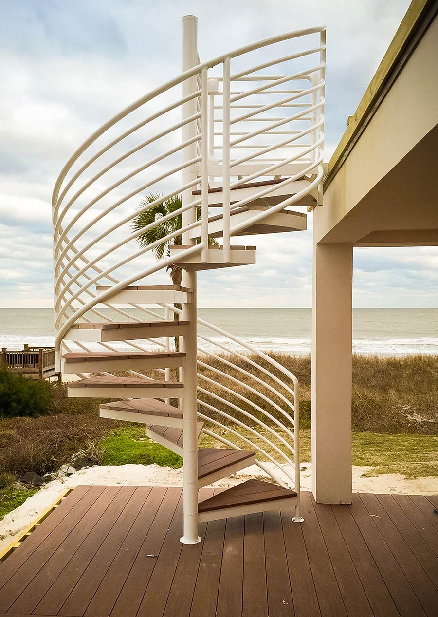 Exterior Stairs Design & Construction | Artistic Stairs on Backyard Stairs Design id=16868