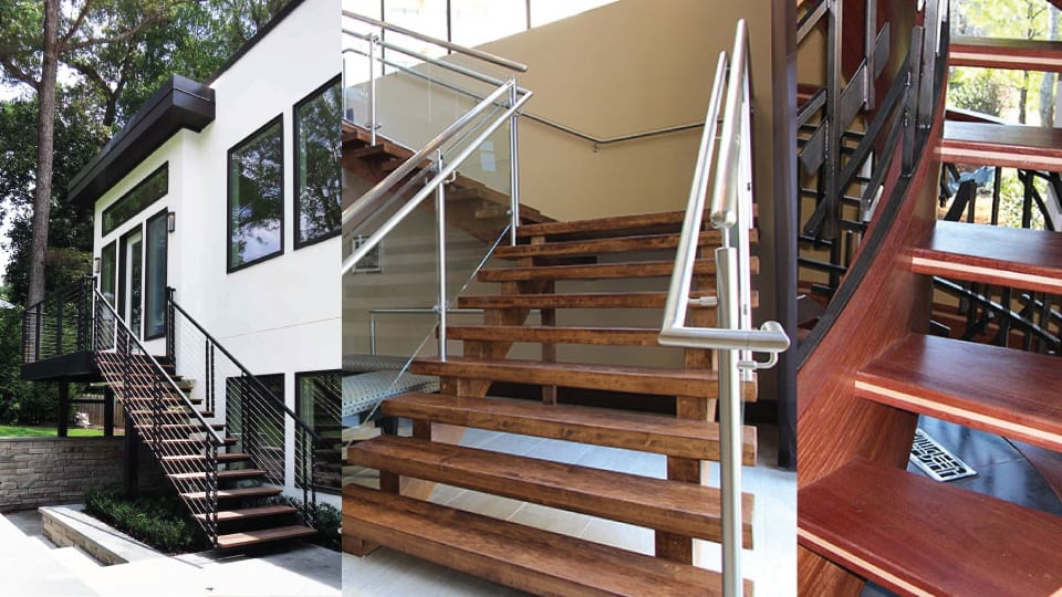 Why Open Riser Stairs Are Gaining Popularity Southern