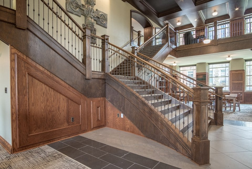 Rustic Staircase Design Artistic Stairs