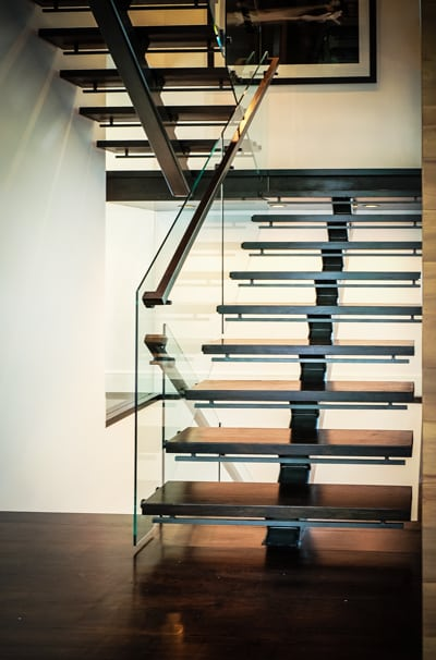 Glass Staircase Design Artistic Stairs