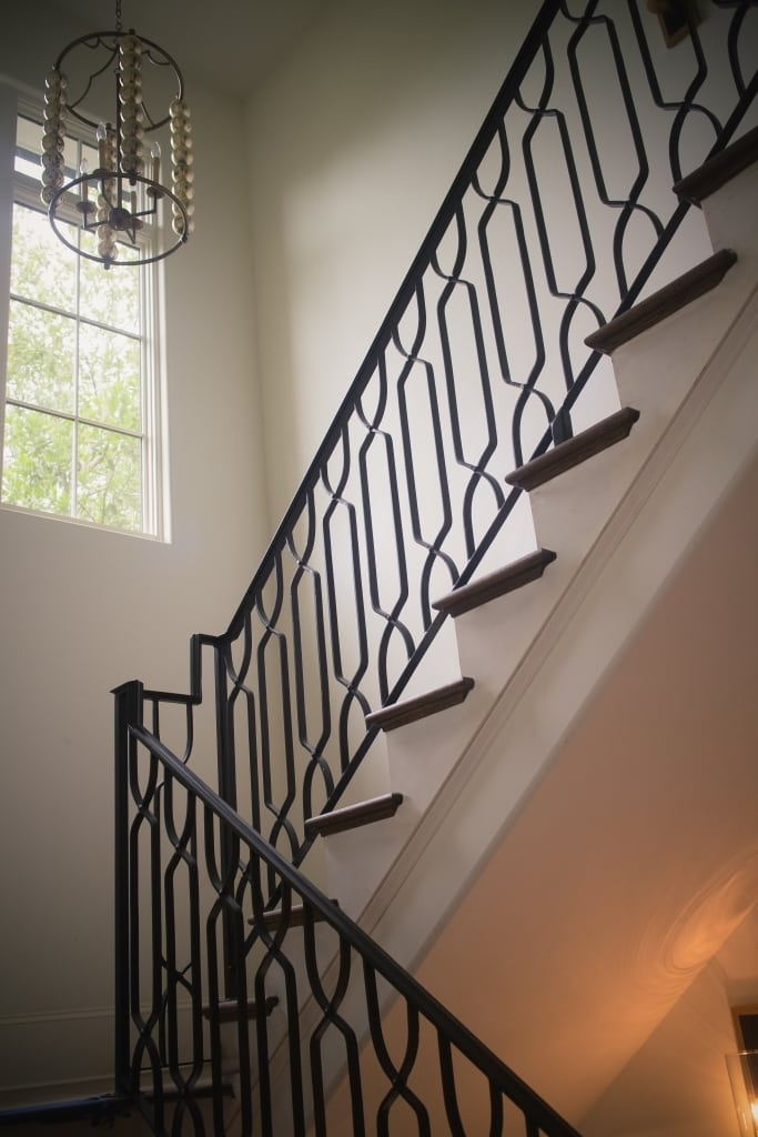 Wrought Iron Stair Railings Process And Design Southern | Iron Railings For Steps