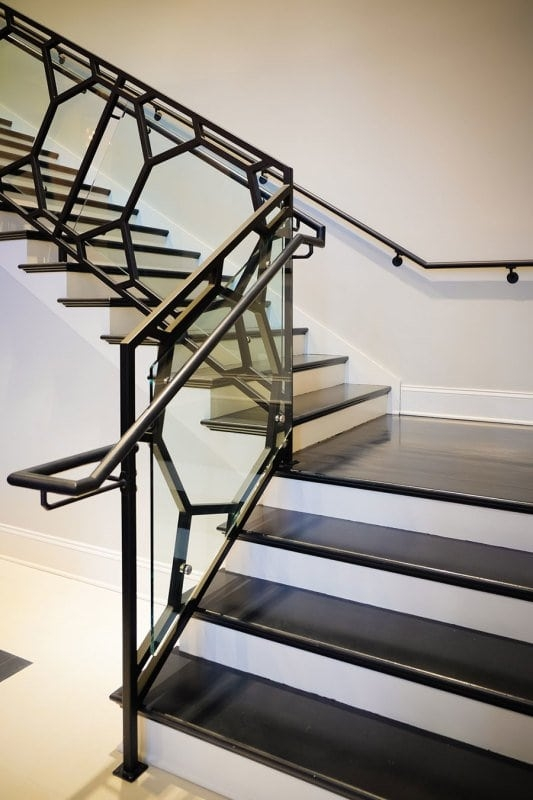 Modern Railing Design Southern Staircase Artistic Stairs | Modern Style Stair Railing | Iron | House | Wrought Iron | Modern Luxury | Art Deco