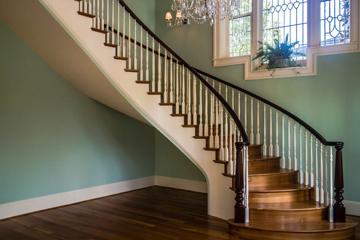 Curved Stairs Curved Staircase Designs Custom Curved Staircase Builder