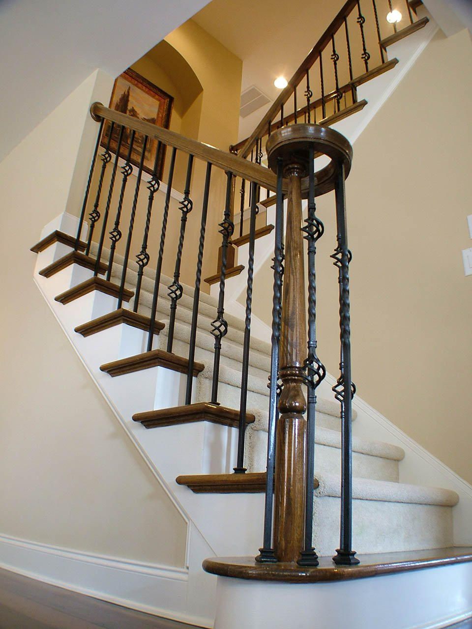 Metal Baluster System Southern Staircase Artistic Stairs