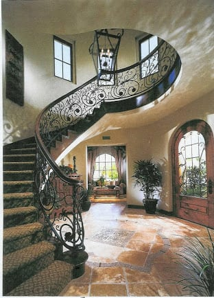 Tuscan Staircase Southern Staircase Artistic Stairs