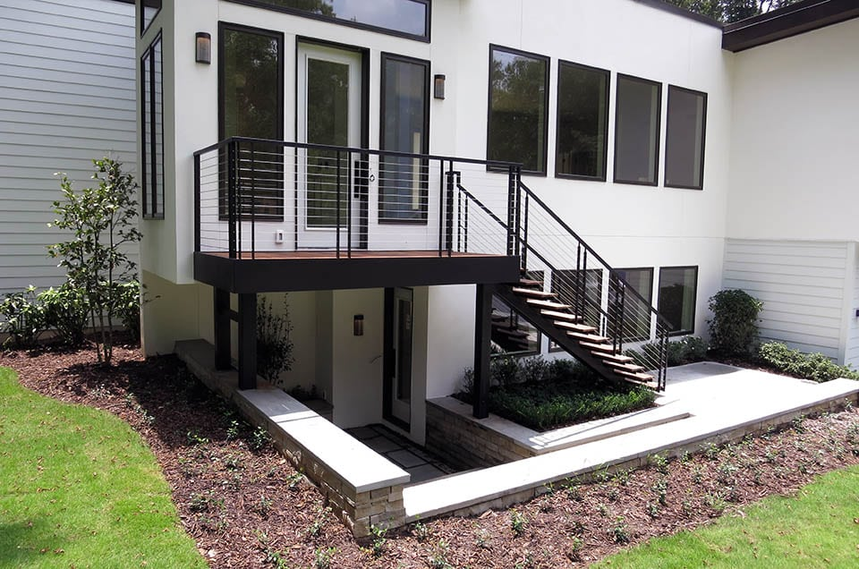 Exterior Stairs - Southern Staircase | Artistic Stairs on Backyard Stairs Design id=72167