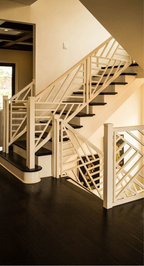 Home Southern Staircase Artistic Stairs | Wooden Railing Designs For Stairs | Wrought Iron | Unique | Minimal Railing | Brown | Balcony