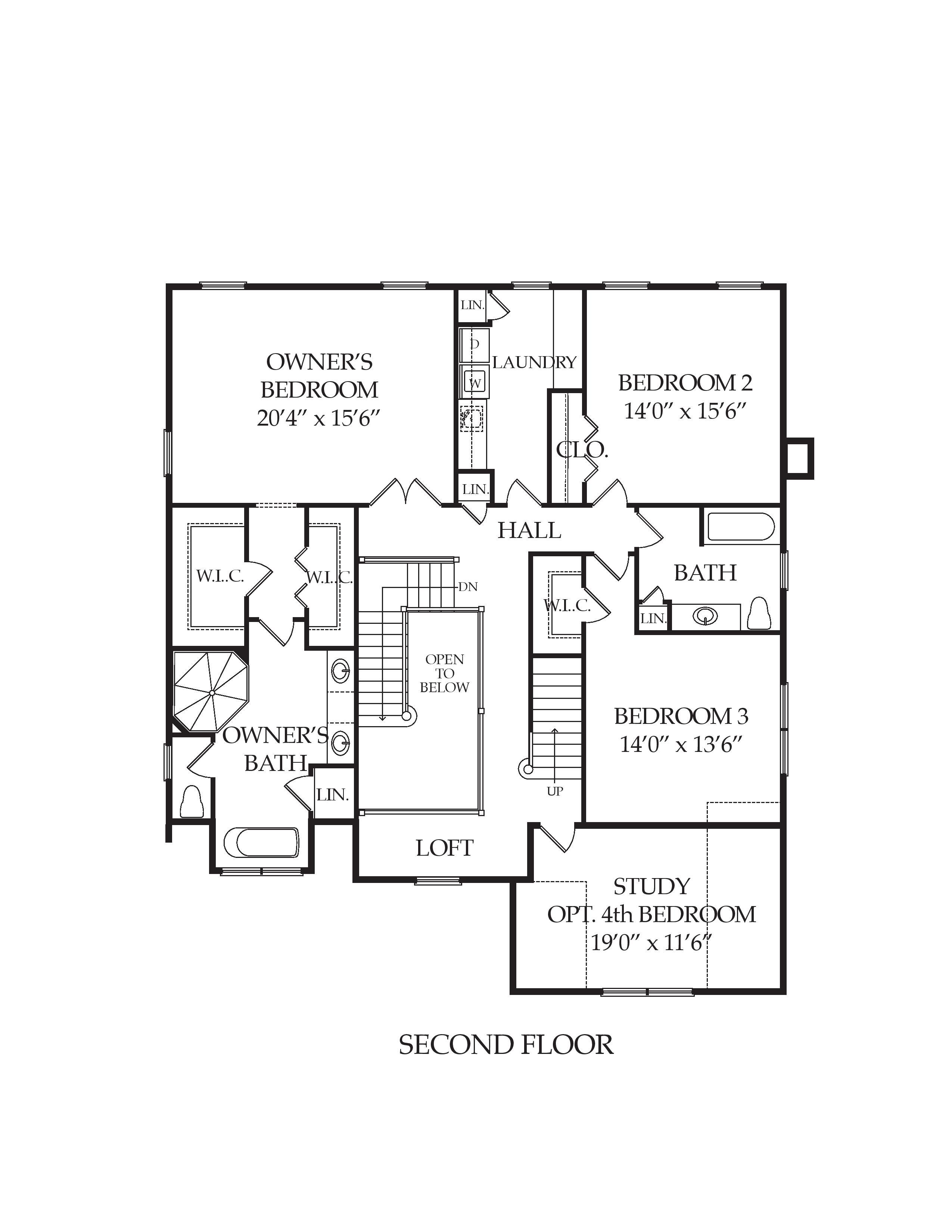 Multiple Level Floor Plans