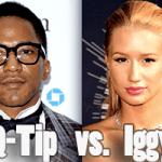 q-tip vs iggy azalea