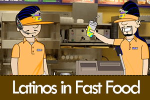 Latinos Working at a Fast Food Restaurant… [VIDEO]