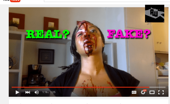 Girl Goes Psycho During Makeup Tutorial REAL OR FAKE
