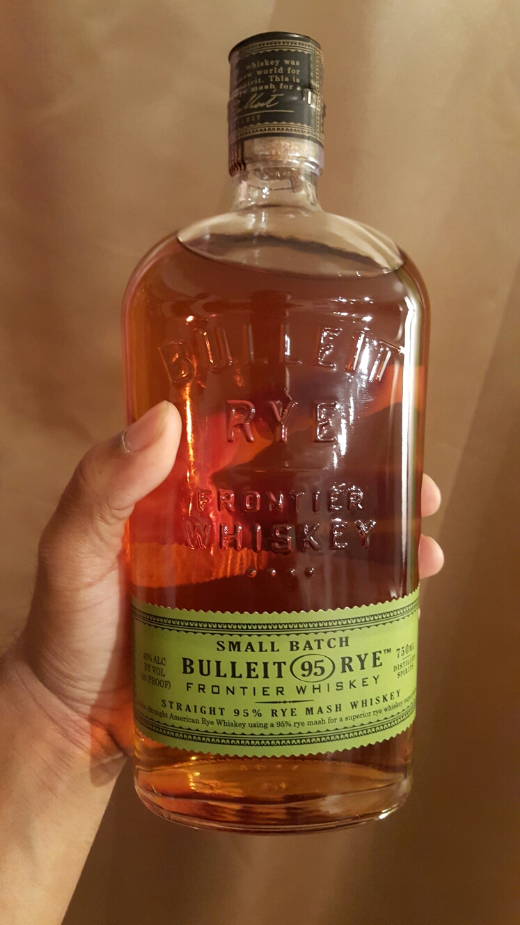 Bulleit Rye Better then Burboun