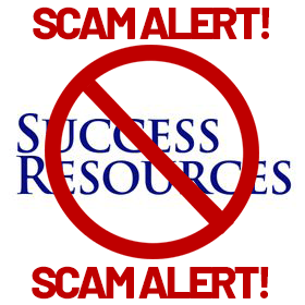 Scam Alert: Success Resources America