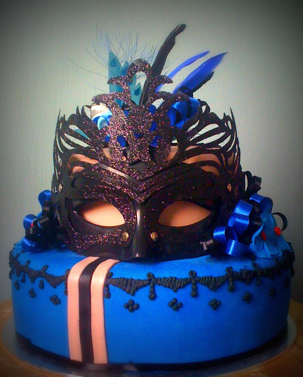 Masquerade Cake Artistique Cakes