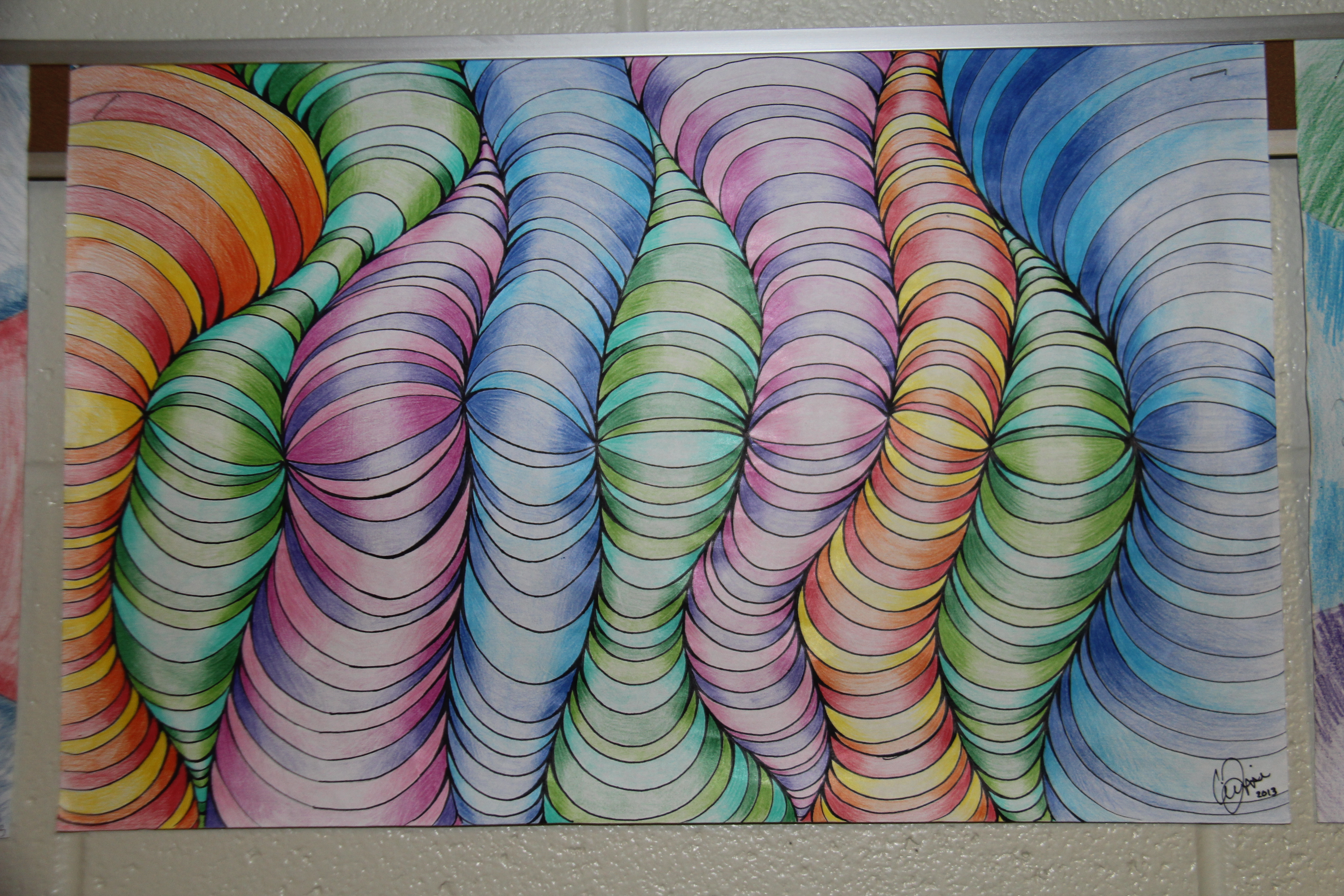 Colored Pencil Shading