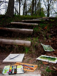 Sylvan Solace Stairs