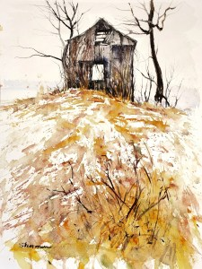 Painting of a Barn