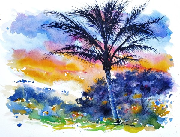 Kaupo Palm Sunset