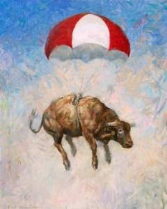 tat_Portrait of parachuting bull(med)