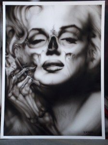 zieg_Smokin Hot Marilyn