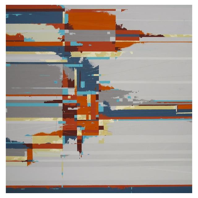 "Artist: Tim Caerbert Title: Beyond Mallory Sqaure Medium: Acrylic Size: 36"" x 36"""