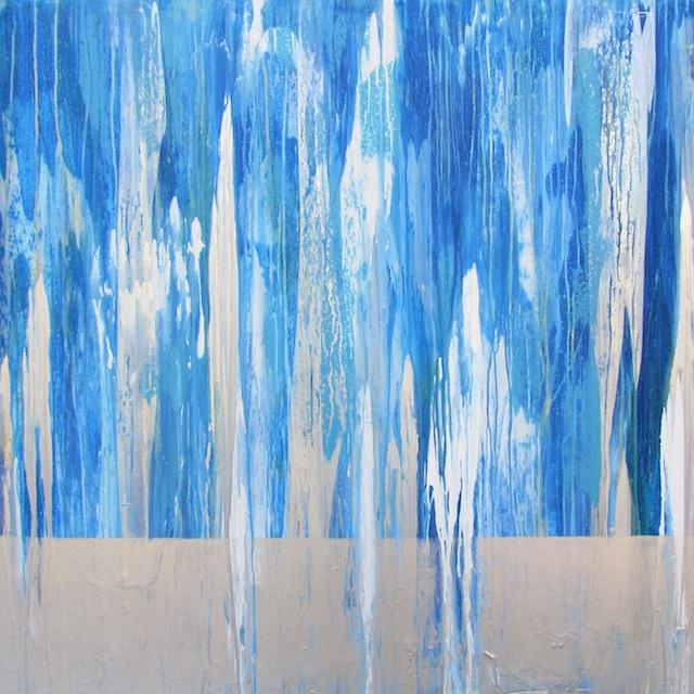 Andrzej Michael Karwacki Berkeley, CA Title: EQ2014 Sq3 Medium: acrylic paint and resin on birch panel Size: 48x48x2.5